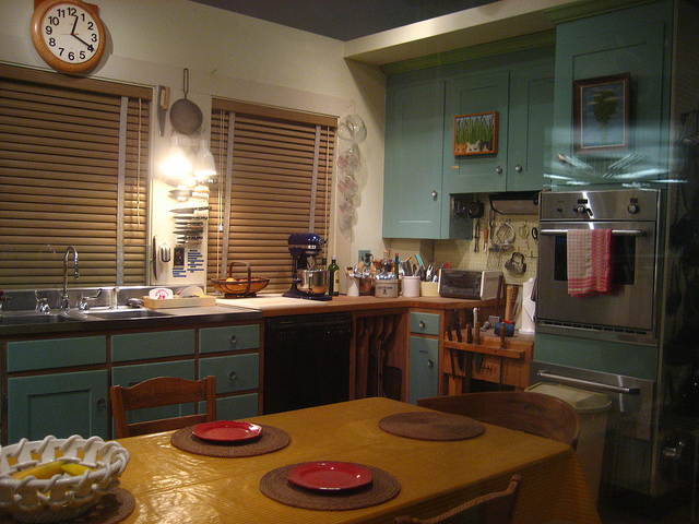 The kitchen of Julia Childs