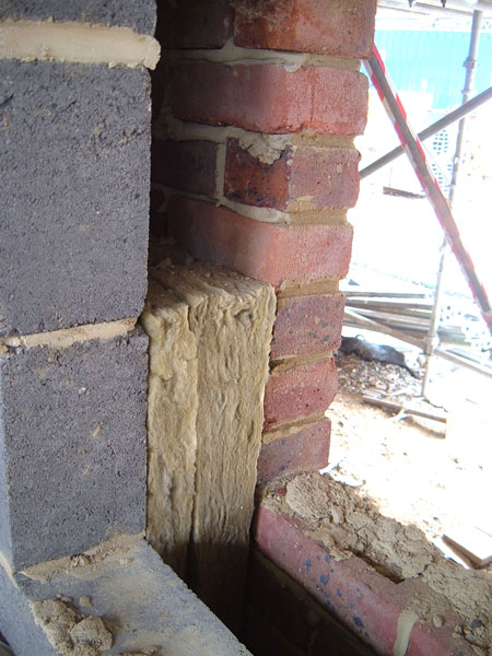 cavuity wall