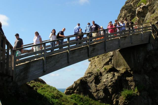 Footbridge to Tintagel